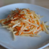 Salad #6 Kohlrabi and Carrot Salad with Asian Dressing