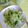 Salad #8 -  Green Chopped Salad with Healthy Green Goddess Dressing