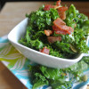Salad #26 - Kale Salad with a Bacon Vinaigrette