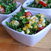 Salad #31 - Kale Salad with Grilled Corn