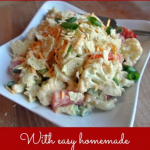 Salad #46 - Retro Cauliflower Salad with Easy Homemade Thousand Island Dressing