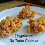 Haystacks - Cornflake and Toffee No Bake Cookies
