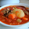 Grandma's Hamburger Soup - #52soups