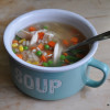 Super Easy Chicken and Barley Soup - #52soups