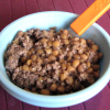 Lentils and Ground Beef–Tired Mom Meal