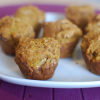 Making Muffins– Whole Wheat Pumpkin Ginger Nut Muffins