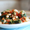 Dead Simple Suppers: Indian Spiced Beans and Spinach