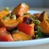 Salad #1 - Roasted Sweet Potato and Cranberry Salad Recipe - 52 Salads