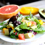 Salad #12 Avocado, Grapefruit and Mango Spring Salad