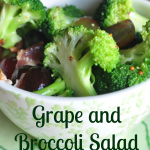 Salad #16 - Bacon, Grape and Broccoli Salad with a Grainy Mustard Dressing