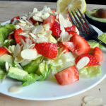 Salad #21 - Strawberry Avocado Salad with Maple Dressing