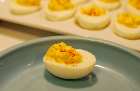 Devilled Eggs - talkinginallcaps.com