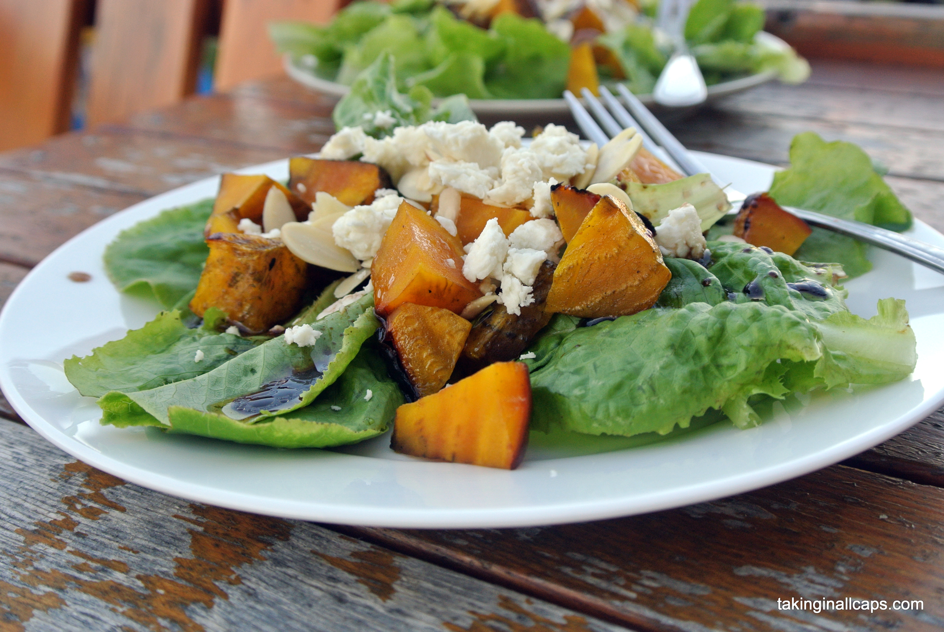 Salad #32 - Roasted Yellow Beet Salad with Feta - Talking in ALL CAPS