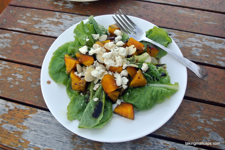 Roasted Yellow Beet Salad with Feta