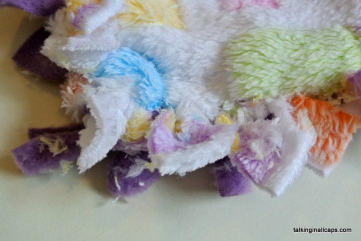 No Sew Baby Blankie