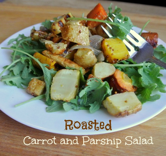 Roasted Carrot and Parsnip Salad