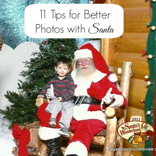 Photos with Santa: Learning from other people's mistakes