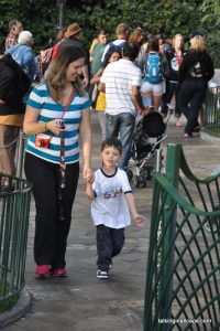 Disneyland with a Cautious or Shy Kid