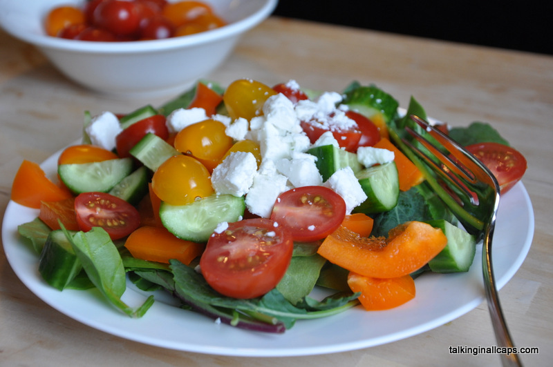 Tossed Greek Salad