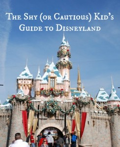 The Shy (or Cautious) Kid's Guide to Disneyland