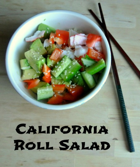 california roll salad