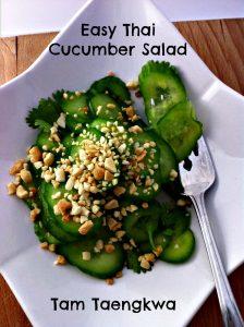 Easy Thai Cucumber Salad