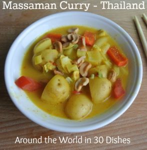Massaman Curry - Thai Food - Around the World in 30 Dishes - talkinginallcaps.com