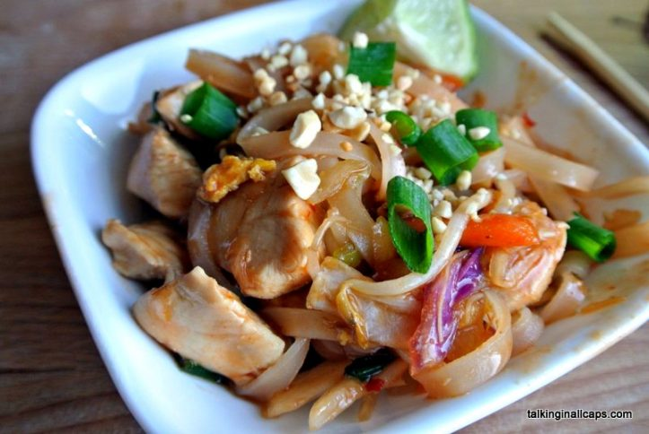 Pad Thai - Around the World in 30 Dishes - talkinginallcaps.com
