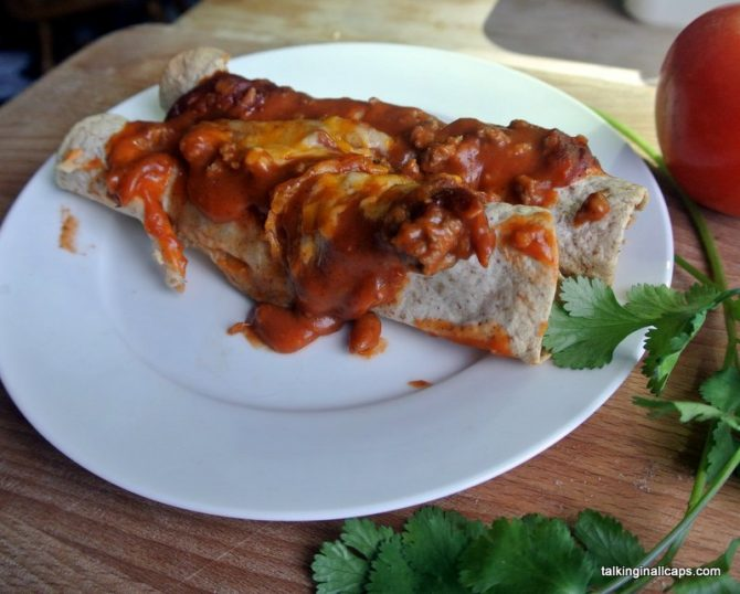 Enchiladas - Around the World in 30 Dishes - Mexico