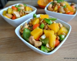 Asian Lentil and Mango Salad 3