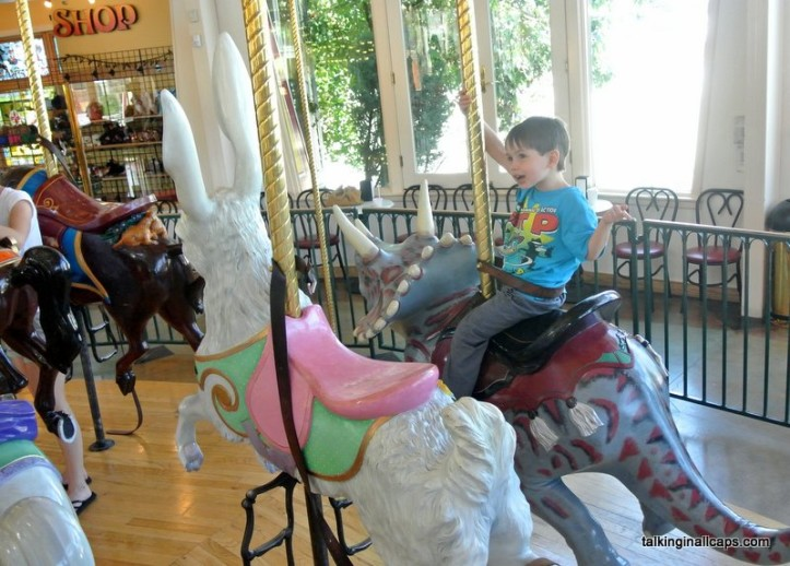 Great Northern Carousel Review - Helena, Montana -talkinginallcaps.com