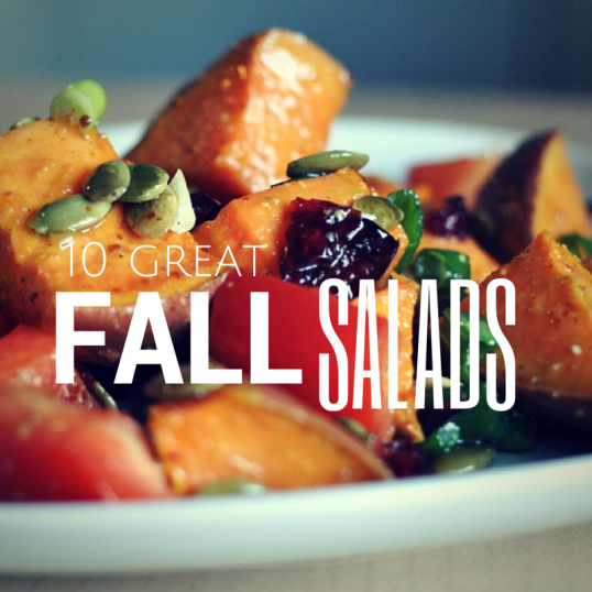 10 Great Fall Salads - talkinginallcaps.com