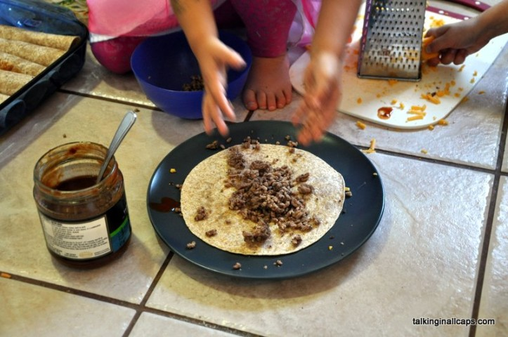 Kid Approved Enchiladas - Cooking with Kids