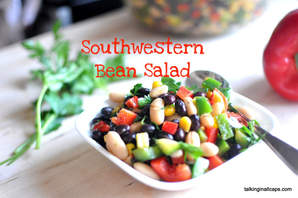 Southwestern Bean Salad - 12 Great Salads to Take to a Potluck or Feed a Big Group