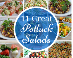 12 Great Salads to Take to a Potluck or Feed a Big Group - talkinginallcaps.com