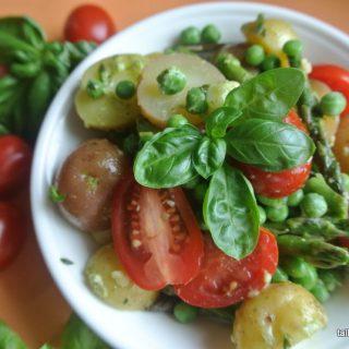 Pesto Potato Salad - Little Potato Company - talkiginallcaps.com
