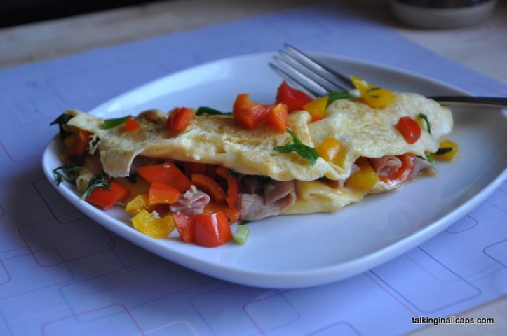 Omelette - easy meals - talkinginallcaps.com