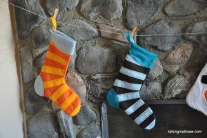 A 9 Month Pregnant Mom's Christmas Home Tour - fireplace - talkinginallcaps.com