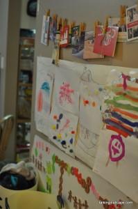 A 9 Month Pregnant Mom's Christmas Home Tour - Christmas Cards - talkinginallcaps.com