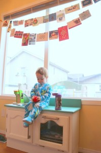 messy xmas Christmas Cards - talkinginallcaps.com