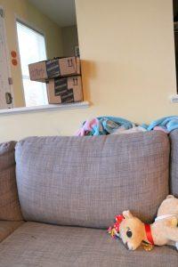 messy xmas couch 2 - talkinginallcaps.com