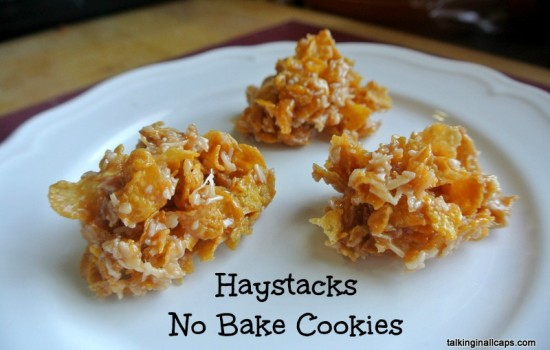 Haystacks No Bake Cookie - talkinginallcaps.com