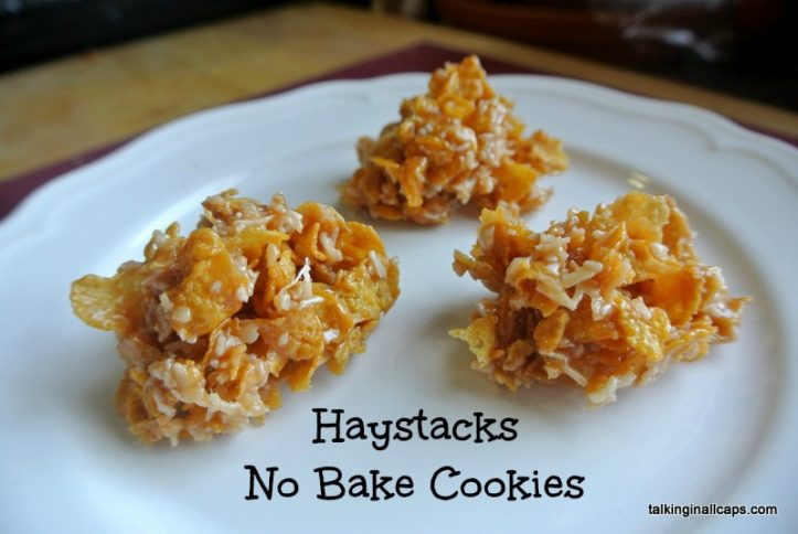 Haystacks No Bake Cookie - talkinginallcaps.com