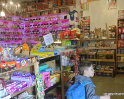 Nanton Candy Store - Calgary Daytrips