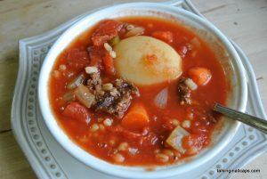 Hamburger Soup - #52soups