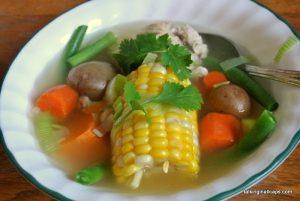Chilean Chicken Soup - Cazuela de Ave