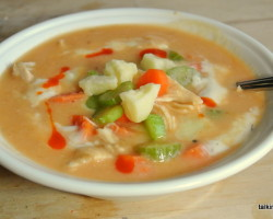 Frank's Buffalo Chicken Soup - #52soups