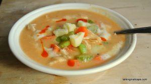 Frank's Buffalo Chicken Soup - #52soups