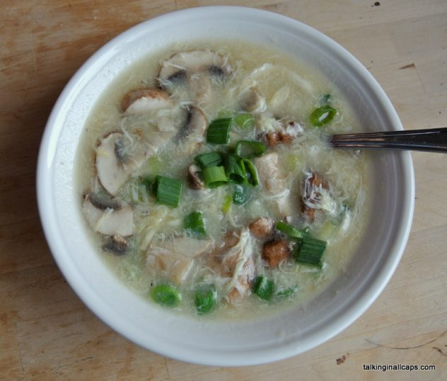 Chinese Egg Drop Soup - #52soups