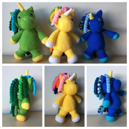 Shy Little Unicorn! - CROCHET | 538x538